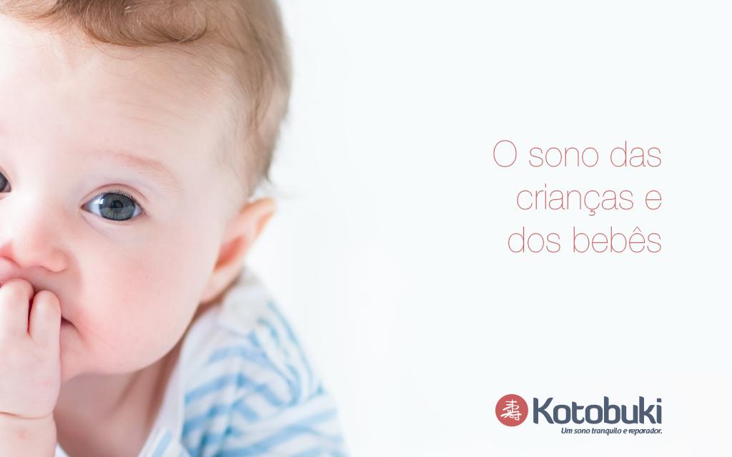 O sono das crianças e dos bebês