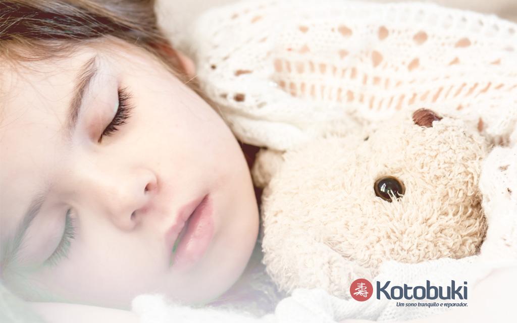 Como as crianças são afetadas com noites mal dormidas?
